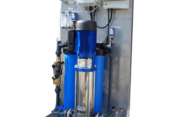 Osmosi versione EDT per uso industriale e civile con portate da 200 a 1200 lt/h