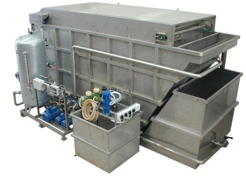 trattamento acque reflue flottatori
