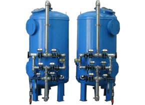 Addolcitore in controcorrente da 30 mc/h. Softening systems in counterflow 30 mc/h.